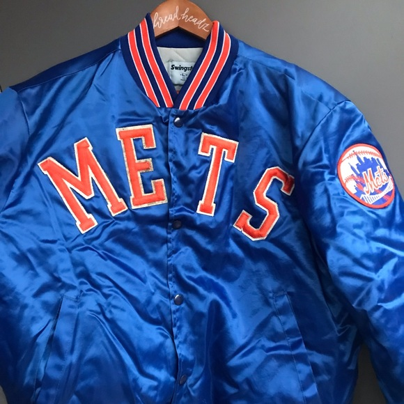 . Vintage New York Mets Satin Bomber